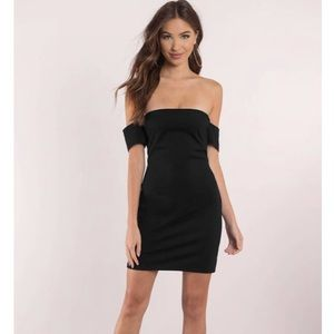 Tobi lace me up dress black small